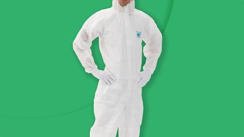 防護服/感染防⽌⾐